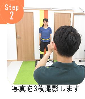 Step2 写真を3枚撮影します
